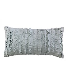 Home Ditsy Spa Ruched Pillow