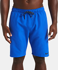 """Nike Men's Diverge Perforated Colorblocked 9"""" Board Shorts"""