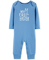 dccd92f55 Carter s Baby Boys Holiday Graphic Cotton Coverall