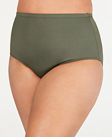 La Blanca Plus Size High-Waist Swim Bottoms