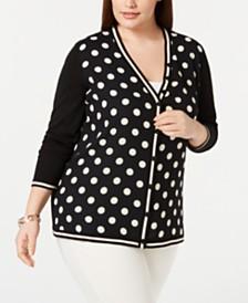 39a5714bf2c77 Cardigan Womens Plus Size Sweaters - Macy s