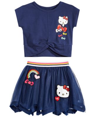 Little Girls Rainbow Skirt