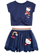 Hello Kitty Toddler   Little Girls T-Shirt   Skirt 3bf224df5a581