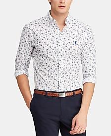 Polo Ralph Lauren Men's Classic-Fit Poplin Print Shirt