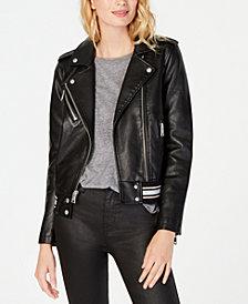 Levi's® Faux-Leather Moto Jacket