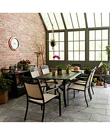 Portofino Outdoor Cast Aluminum Dining Collection, Created For Macy's
