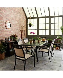 Outdoor Cast Aluminum Dining Collection, Created For Macy's