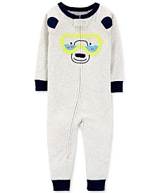Carter's Baby Boys 1-Pc. Snorkel Bear Cotton Pajamas