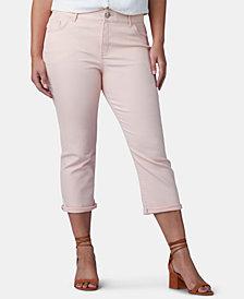 Lee Platinum Plus Size Flex Motion Capri Jeans