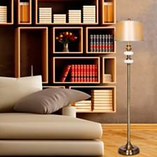"Fangio Lighting's 1581 60"" Antique Glass Floor Lamp"