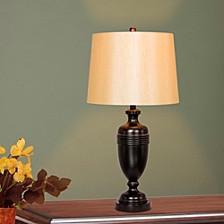 "1590BZ Pair of 29.25"" Metal Decorative Table Lamps"