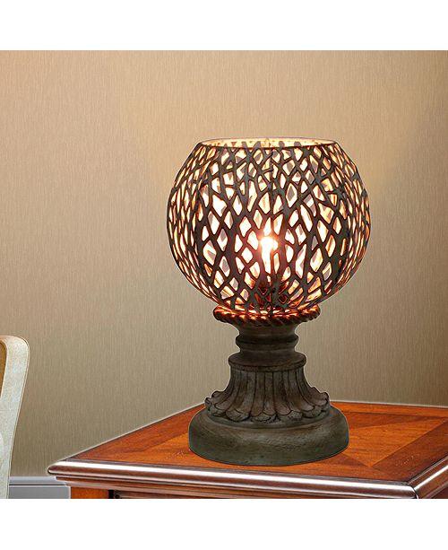 "FANGIO LIGHTING 1607 9"" Antique Moroccan Branch Metal Uplight"