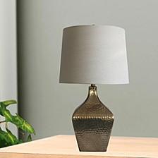 "5161 28"" Mercury Glass Table Lamp"