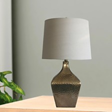 "Fangio Lighting's 5161 28"" Mercury Glass Table Lamp"