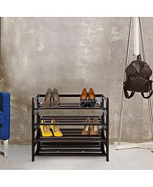 4 - Shelf Folding Shoe Rack