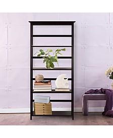 Mission Style 5 - Shelf Bookcase