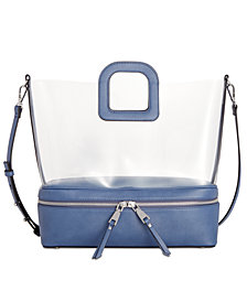 I.N.C. Transparent Tote, Created for Macy's