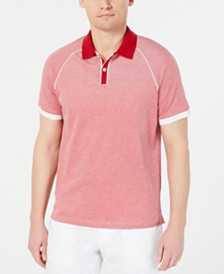 Michael Kors Men's Jaquard Contrast Polo