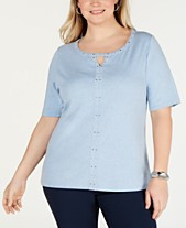 546f42e4ff9f Plus Size T Shirts  Shop Plus Size T Shirts - Macy s