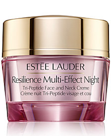 Estee Lauder Resilience Multi-Effect Night Tri-Peptide Face and Neck Crème, 2.5-oz.