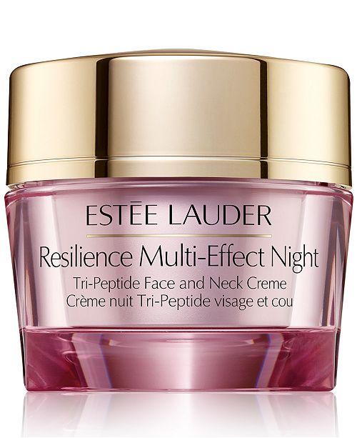 Estee Lauder Estee Lauder Resilience Multi-Effect Night Tri-Peptide Face and Neck Crème, 2.5-oz.