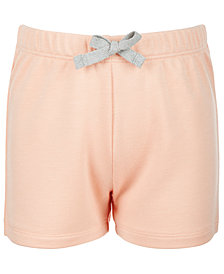 Ideology Little Girls Bow-Waist Shorts, Created for Macy's