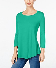 Scoop-Neck Top, Created for Macy's