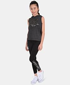 Big Girls Logo Leggings