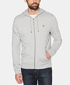 Men's Zip-Front Fleece Hoodie