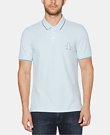 Original Penguin Men's Slim-Fit Embroidered Logo Piqué Polo, Created for Macy's