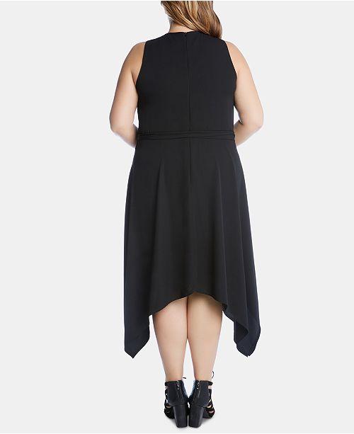 Dress ourletRobe Karen Size Kane Plus Femme Robes Noir nN80wmv
