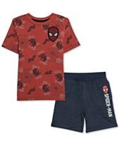 8becd0c1359 Marvel Little Boys T-Shirt   Shorts Set