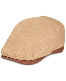 Levi's® Men's Flat Top Ivy Hat with Piecing and Self Back Adjuster
