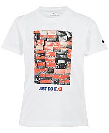 Nike Little Boys Just Do It Shoebox Graphic Cotton T-Shirt