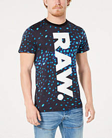 G-Star RAW Men's Meil Whale Shark Logo Graphic T-Shirt, Created for Macy's