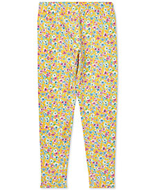 Polo Ralph Lauren Big Girls Floral-Print Jersey Leggings