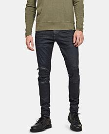 G-Star RAW Men's 5620 3D Zip Knee Skinny Jeans