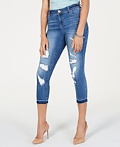 17e84a3615d I.N.C. Curvy INCEssentials Ripped Cropped Skinny Jeans