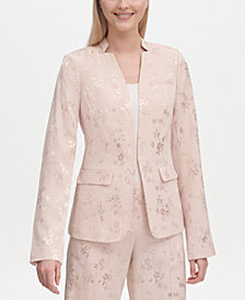 Calvin Klein Floral Damask Jacket