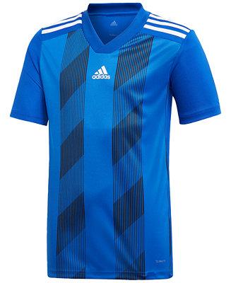 adidas Adidas Big Boys Striped 19 Jersey & Reviews - Shirts & Tops ...