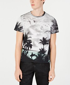 Just Cavalli Men's Surf Graphic T-Shirt