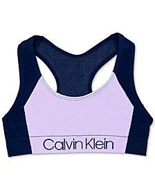 Calvin Klein Little & Big Girls Logo Sports Bra