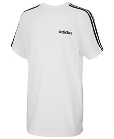 adidas Big Boys Three-Stripe Graphic T-Shirt
