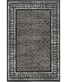 Safavieh Adirondack 110 Black and Silver Area Rug Collection
