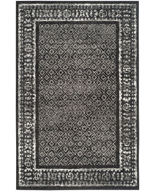 Adirondack 110 Black And Silver Area Rug Collection