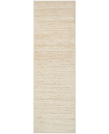 "Adirondack Champagne and Cream 2'6"" x 8' Runner Area Rug"