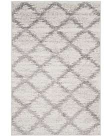 Safavieh Adirondack Ivory and Silver 4' x 6' Area Rug