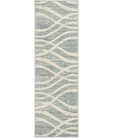 "Safavieh Adirondack Cream and Slate 2'6"" x 8' Runner Area Rug"
