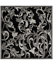 Safavieh Amherst Anthracite and Light Gray 7' x 7' Square Area Rug