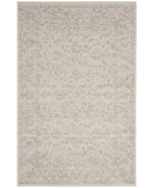Safavieh Carnegie Cream and Light Gray 4' x 6' Area Rug